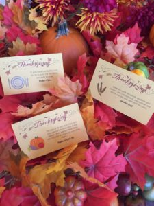 Thanksgiving - Free Scripture Memory Cards