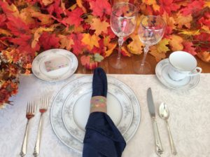 Thanksgiving - Place Cards and Napkin Rings
