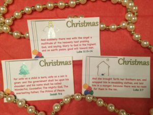 Christmas - Scripture Memory Cards